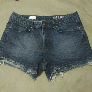 3/$15 Gap Slim Cut-Offs  Denim Shorts